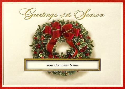 Holiday Business Cards Etiquette