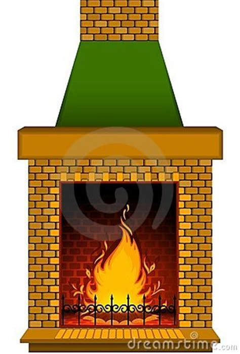 cartoon stone fire place stock images image