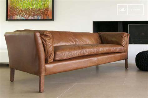 canapé vintage cuir marron 13 idées déco de canapé en cuir marron