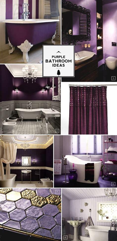 color guide purple bathroom ideas  designs home