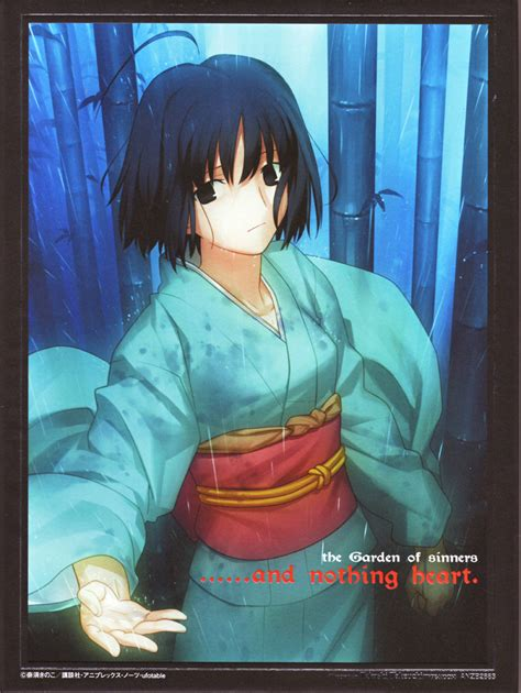 There Are Also The Kara No Kyoukai Which Set In Same Universe As Fate Series I Havent Seen Them But Heard A Bit About Kara No Kyoukai The Garden Of Sinners Chapter 2 Tsuki Kan