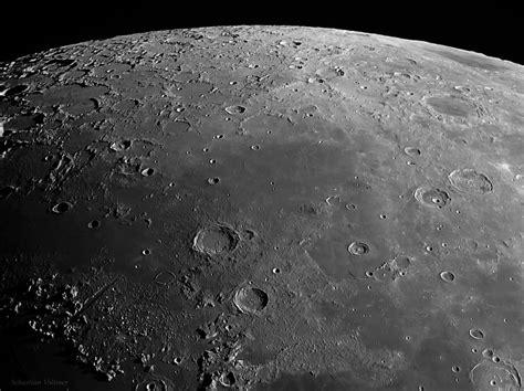 surface   moon