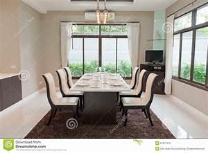 salle a manger luxueuse photo libre de droits image With salle a manger luxueuse