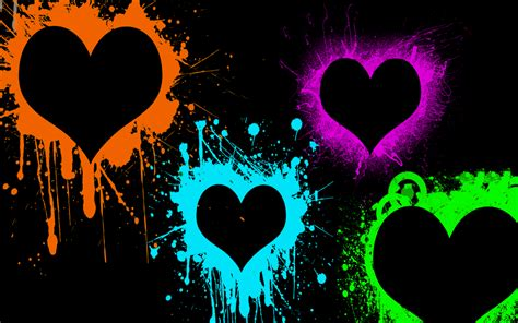 HD wallpapers abstract heart coloring pages