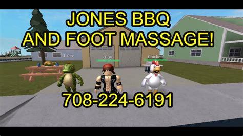 Jones Bbq And Foot Massage (roblox)