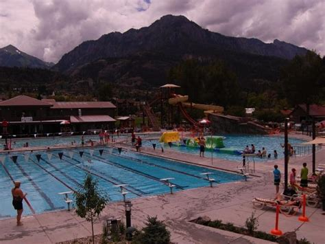Ouray Hot Springs Swimming Pool Colorado