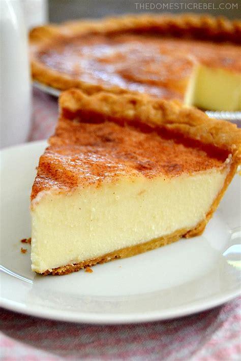sugar pie sugar cream pie the domestic rebel