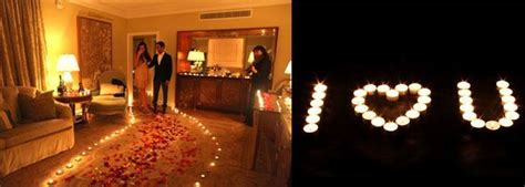 light the bedroom candles 15 ways to use tea light candles for a romantic room makeover 15864   Make a big romantic gesture