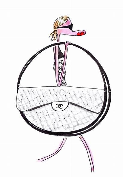 Hula Hoop Chanel Bag Clipartmag Drawing