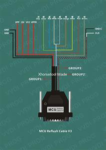 How To Use Ecu  Mcu  Mc9s12 Reflash Cable With Vvdi Prog