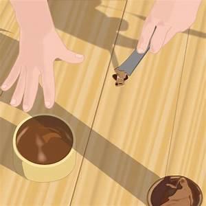 reparer un parquet parquet With reboucher trou parquet