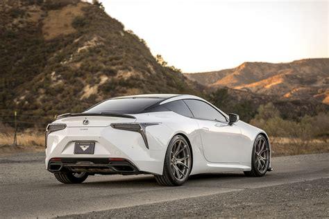 Lexus LC Rear Spoiler & Carbon Fiber Aero Kits - Vorsteiner