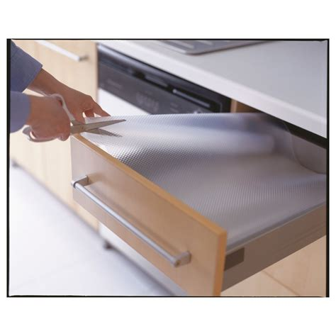 Variera Drawer Mat Transparent Ikea