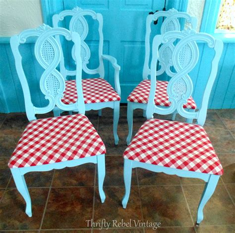 kitchen chair makeover repurposed tablecloth kitchen chairs makeover thrifty 3344