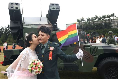Coming Out Bravely Taiwan Same Sex Couples Join