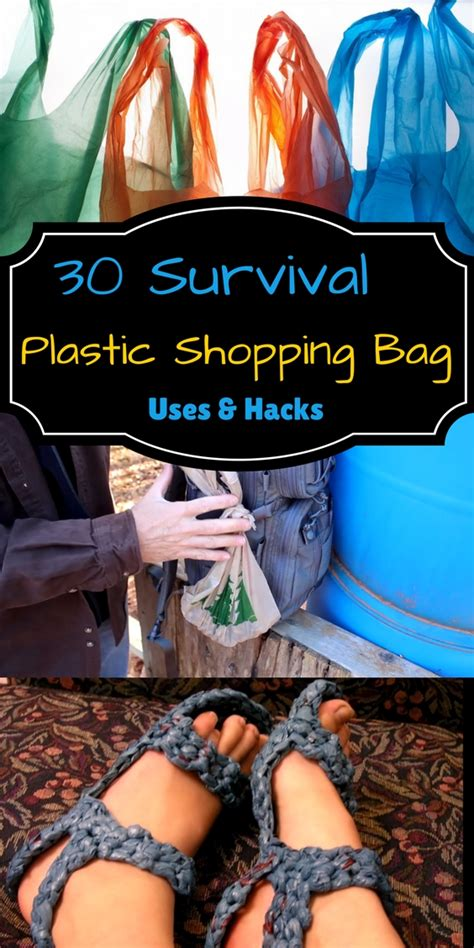 30 Survival Plastic Shopping Bag Uses & Hacks  Home And