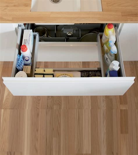 rangement evier cuisine meuble sous evier avec lave vaisselle uccdesign com