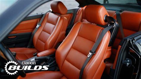 clarion builds  bmw  series restomod  interior
