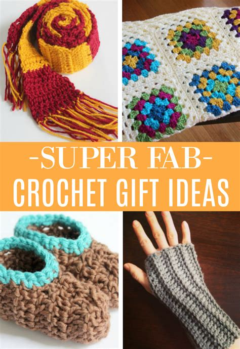 super fab crochet projects  gift ideas   takes