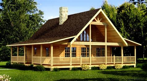 Cool Log Cabin Home Plans And Prices