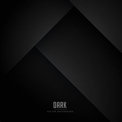 Abstract Black Vector Background by Black Minimal Background With Abstract Shapes