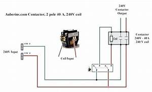 How To Wire A 2 Pole Contactor