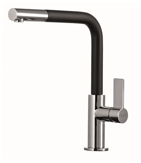 pull out kitchen sink taps elo0035 single lever pull out kitchen tap black northern 7606