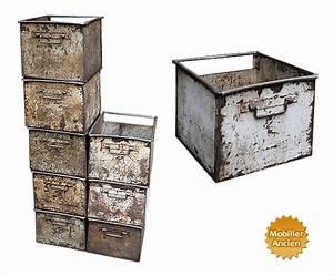 Caisse Metal Rangement : casier de rangement ~ Teatrodelosmanantiales.com Idées de Décoration