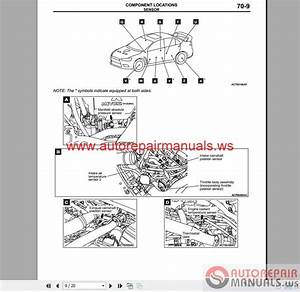 Mitsubishi Lancer Evolution X 2008 Wiring Diagrams