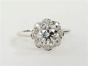 floral halo engagement rings floral halo engagement rings weddingbee