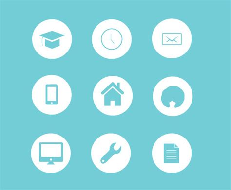 resume icons free resume icons on behance