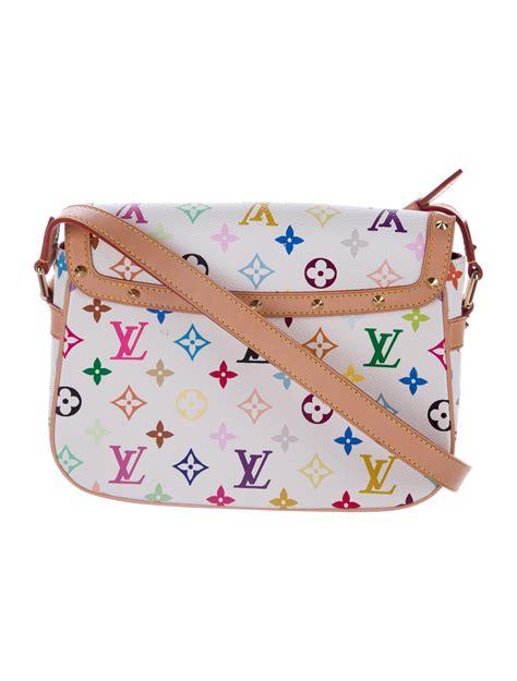 louis vuitton multicolore sologne crossbody bag handbags lou  realreal