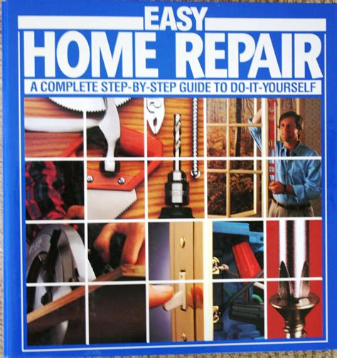 easy home repair  complete step  step guide