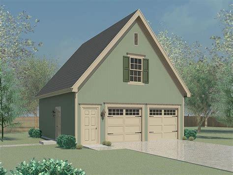 Garage Storage Plans  Twocar Garage Plan With Storage