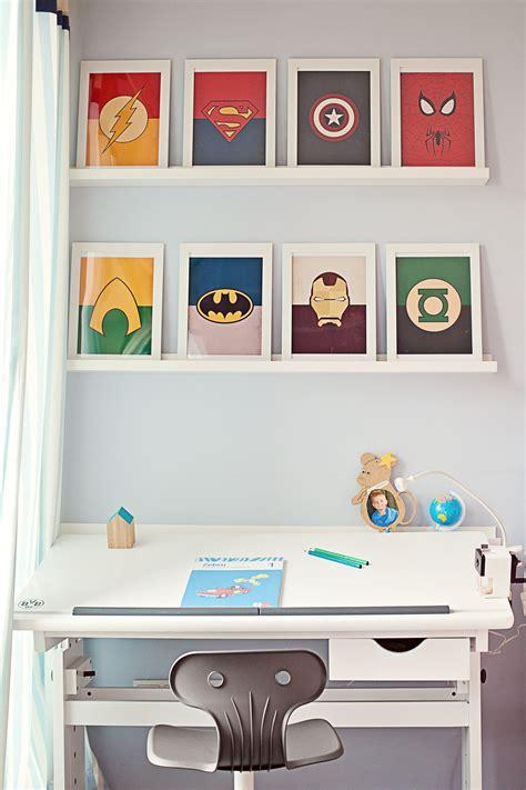 Kinderzimmer Ideen Superhelden by Superhelden Arbeitsplatz Kinderzimmer