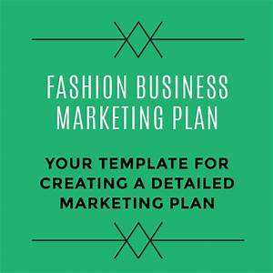 fashion business marketing budget template and plan With fashion startup business plan