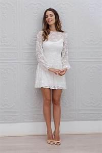robes de mode robe blanche courte pour mariage With robes courtes pour mariage