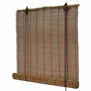 Rollos Aus Bambus Bambusrollos Fenster Sichtschutz Rollos Aus