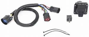 Tow Package Vehicle Wiring Harness With 7