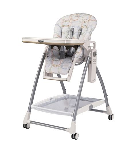 chaise peg perego prima pappa peg perego 2010 prima pappa newborn high chair in circles