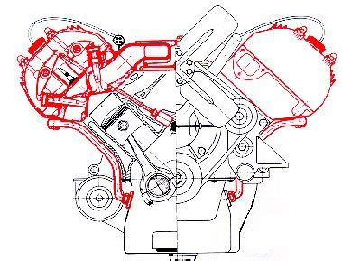 Ford V8 Engine Diagram by Ardun Conversion Kit Schematic The Ford Flathead V8