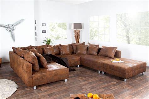canapé d angle vintage canapé d 39 angle cuir marron vintage canapé idées de