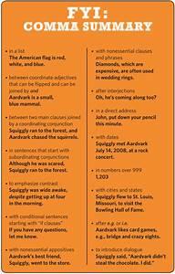 How To Use Commas  A Summary
