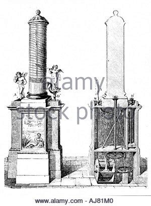 ancient clepsydra  water clock stock photo