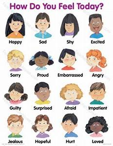 How Do You Feel Today Faces Chart My Students With Special Needs Love Love This Poster