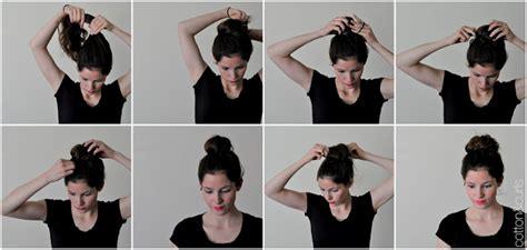 3 Easy Bun Tutorials Hairstyles Allure Magazine Step By How To Style Your Hair Quick Bun Tutorial Light Ombre With Long Layered Bangs Pixie Haircut Drawing Plait Games Jeval Color Chart