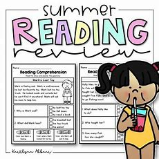 Reading Comprehension Passages  Summer Review By Kaitlynn Albani
