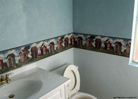 bathroom wallpaper border ideas unique bathroom wallpaper borders best hd wallpapers