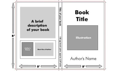 how to design a book cover disorders book jacket template