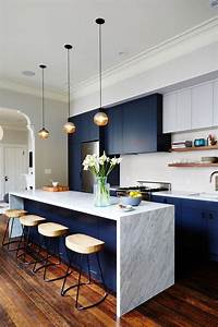 24, Blue, Kitchen, Cabinet, Ideas, To, Breathe, Life, Into, Your, Kitchen